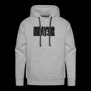 Black MiAY3R Logo - Men's Premium Hoodie