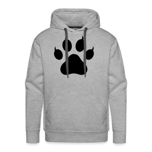 Cat Pawprint - Men's Premium Hoodie