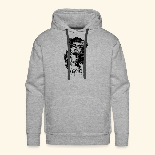 santa muerte - Men's Premium Hoodie