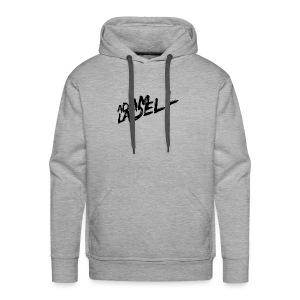 Adam Ladell Logo Black - Men's Premium Hoodie