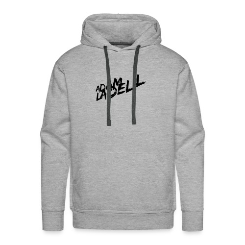 Adam Ladell Logo Black - Men's Premium Hoodie