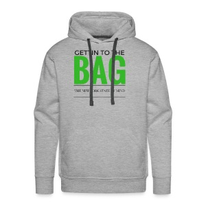 Gettin To The Bag - Mouse Pad - Men's Premium Hoodie