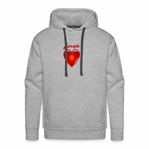 Lover - Men's Premium Hoodie