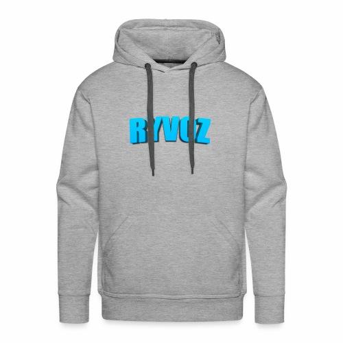Ryvoz RuiZhi 3D logo - Men's Premium Hoodie
