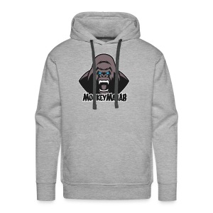 MonkeyManAB Logo - Men's Premium Hoodie
