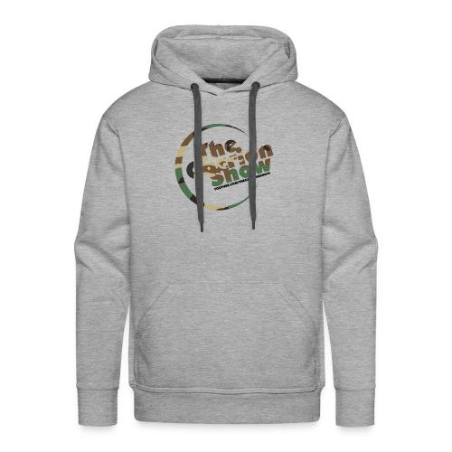 Camo logo Design - Men's Premium Hoodie