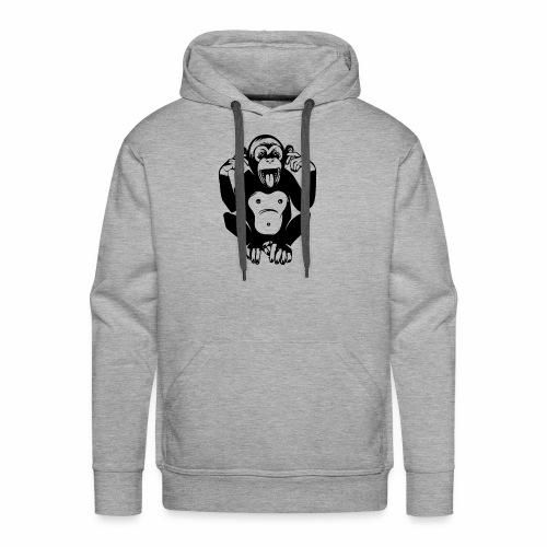 CheekyMonkey - Men's Premium Hoodie