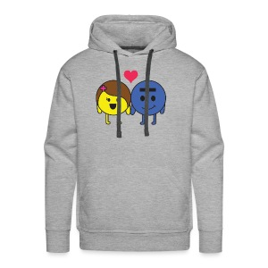 P and E love - Men's Premium Hoodie