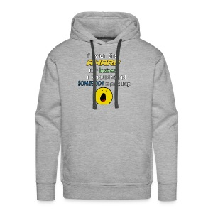 Heights of laziness - Men's Premium Hoodie