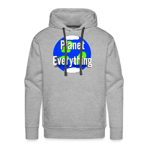 Planet Circle logo merchandise - Men's Premium Hoodie