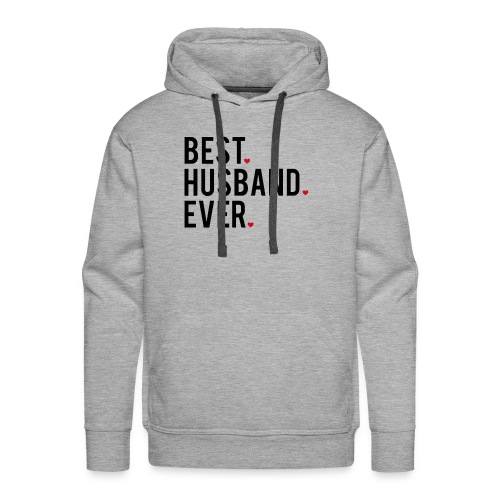 best husband ever - Men's Premium Hoodie