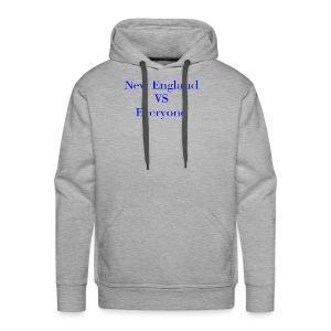 new england vs everyone light shirt - Men's Premium Hoodie