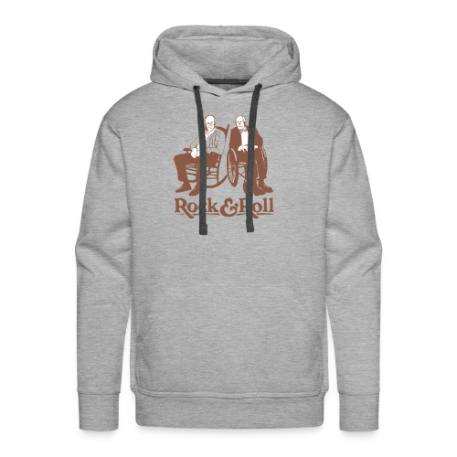 Rock and Roll T-Shirt - Men's Premium Hoodie
