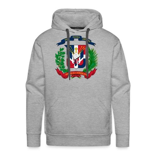 Dominican shield - Men's Premium Hoodie