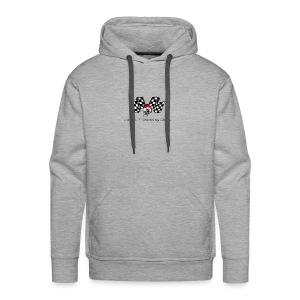 varoom1skull&flags - Men's Premium Hoodie