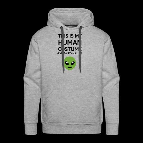 This Is My Human Costume - Alien Edition - Men's Premium Hoodie