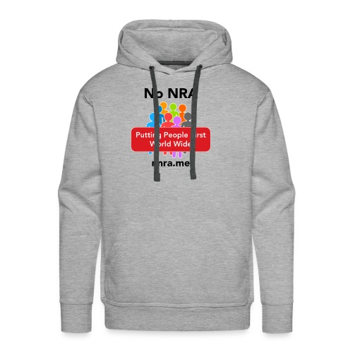 No to the NRA - Men's Premium Hoodie
