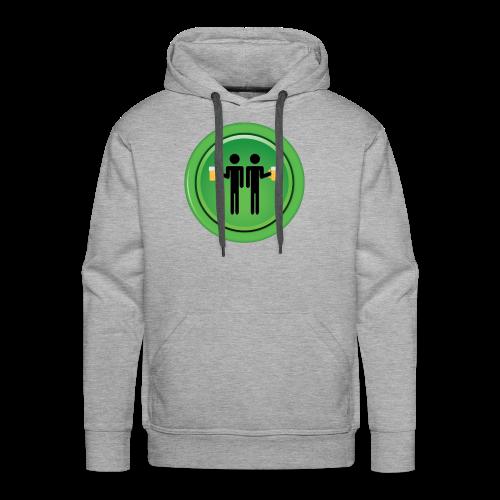 Drinking Buddies Green - Men's Premium Hoodie