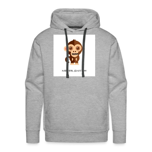 never snitch .... - Men's Premium Hoodie