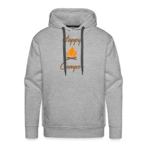 Happy Camping / Outdoor Nature Lover Shirt/ Merch - Men's Premium Hoodie