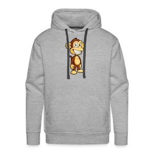 Cartoon monkey - Men's Premium Hoodie