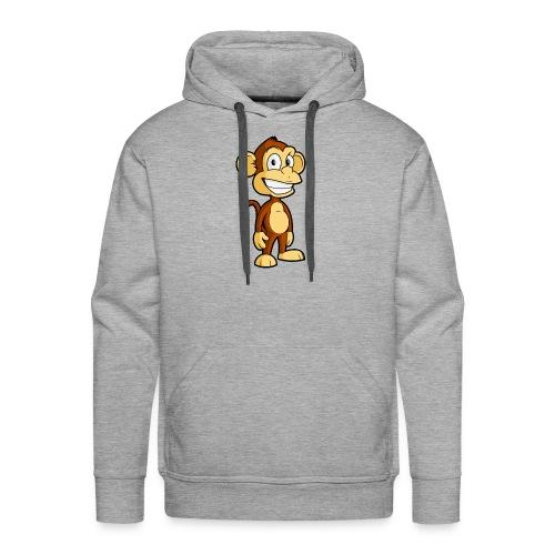 Cartoon monkey - Men's Premium Hoodie