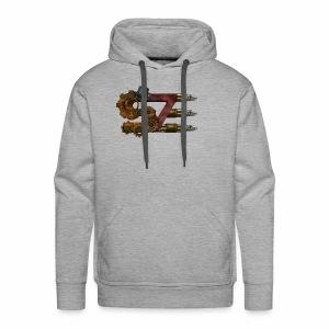 steam punk tshirt - Men's Premium Hoodie