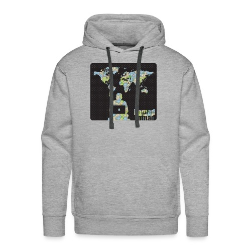NomadButNomad working world wide - Men's Premium Hoodie