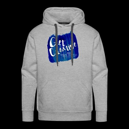 Get Creative - Blue - Men's Premium Hoodie