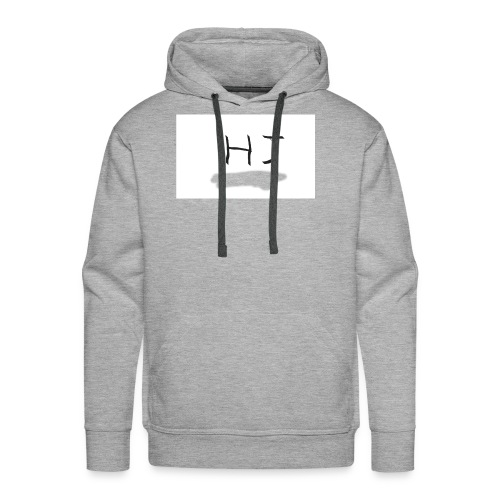 HJ small letter merch - Men's Premium Hoodie