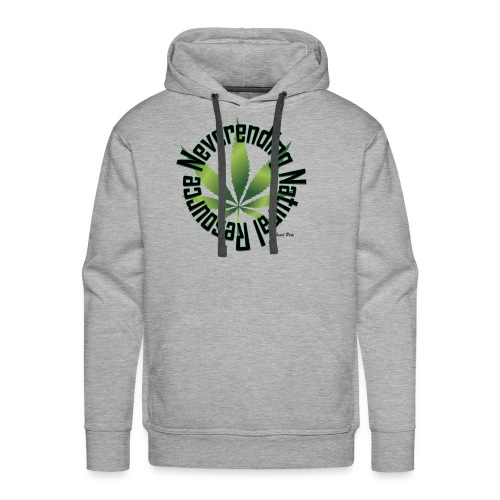 Neverending Natural Resource - Men's Premium Hoodie