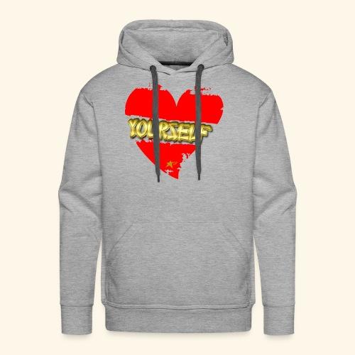 Love Yourself T-shirt - Men's Premium Hoodie