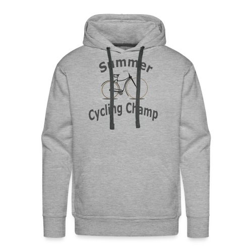 Summer Cycling Champ - Men's Premium Hoodie