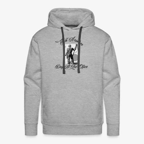 Just Another Day At the Office Ironworker - Men's Premium Hoodie