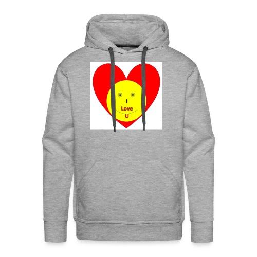 heart - Men's Premium Hoodie