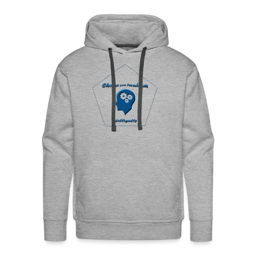 Choose your paradigm intelligently - Men's Premium Hoodie