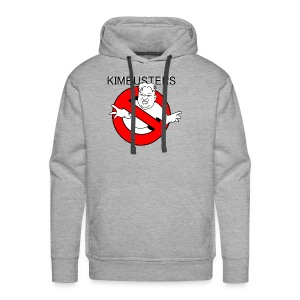 Kimbusters (with text) - Men's Premium Hoodie