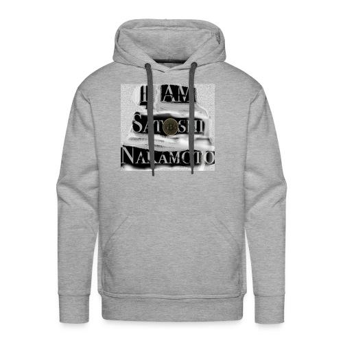 I am Satoshi - Men's Premium Hoodie