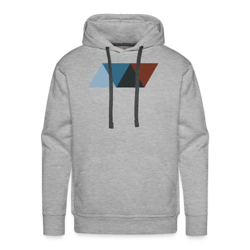 Rhombus 1 - Men's Premium Hoodie