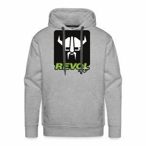 RevolRC Viking White on Black - Men's Premium Hoodie