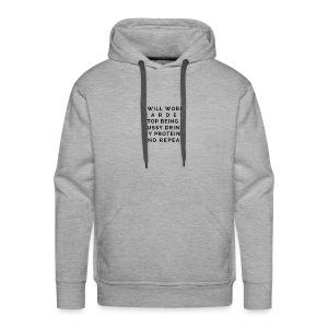 The White Gym Pledge - Men's Premium Hoodie