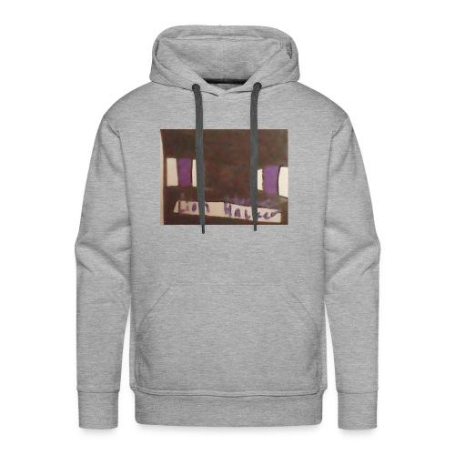 Lion haker t-shirt - Men's Premium Hoodie