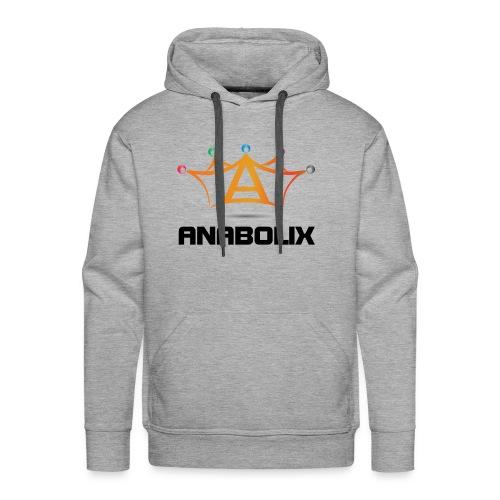 anabolix logo color - Men's Premium Hoodie