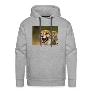 cheetah big cat - Men's Premium Hoodie