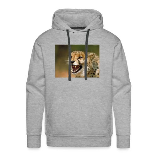 cheetah big cat - Men's Premium Hoodie
