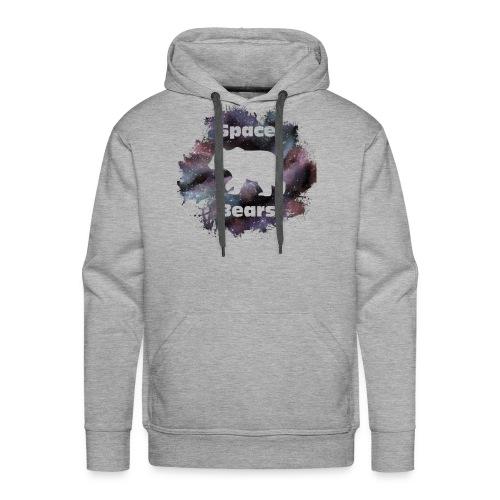 Space Bear Splatter - Men's Premium Hoodie
