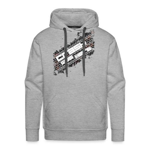 Crash Was Here (White) - Men's Premium Hoodie