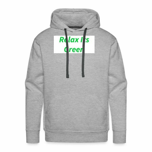 Relax Its Green Merch - Men's Premium Hoodie