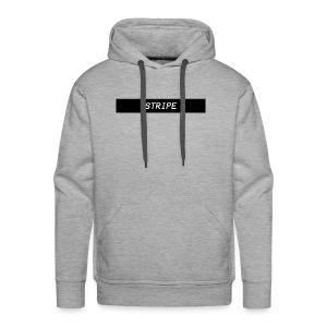 Stripe Logo Shirts and Hoodies. - Men's Premium Hoodie