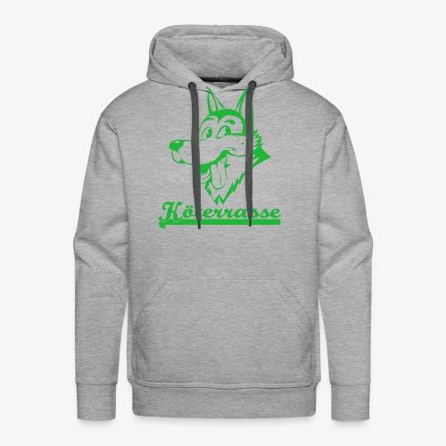 Köterrasse grün - Men's Premium Hoodie